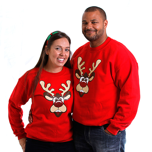 rudolph the red nosed reindeer christmas sweatshirts