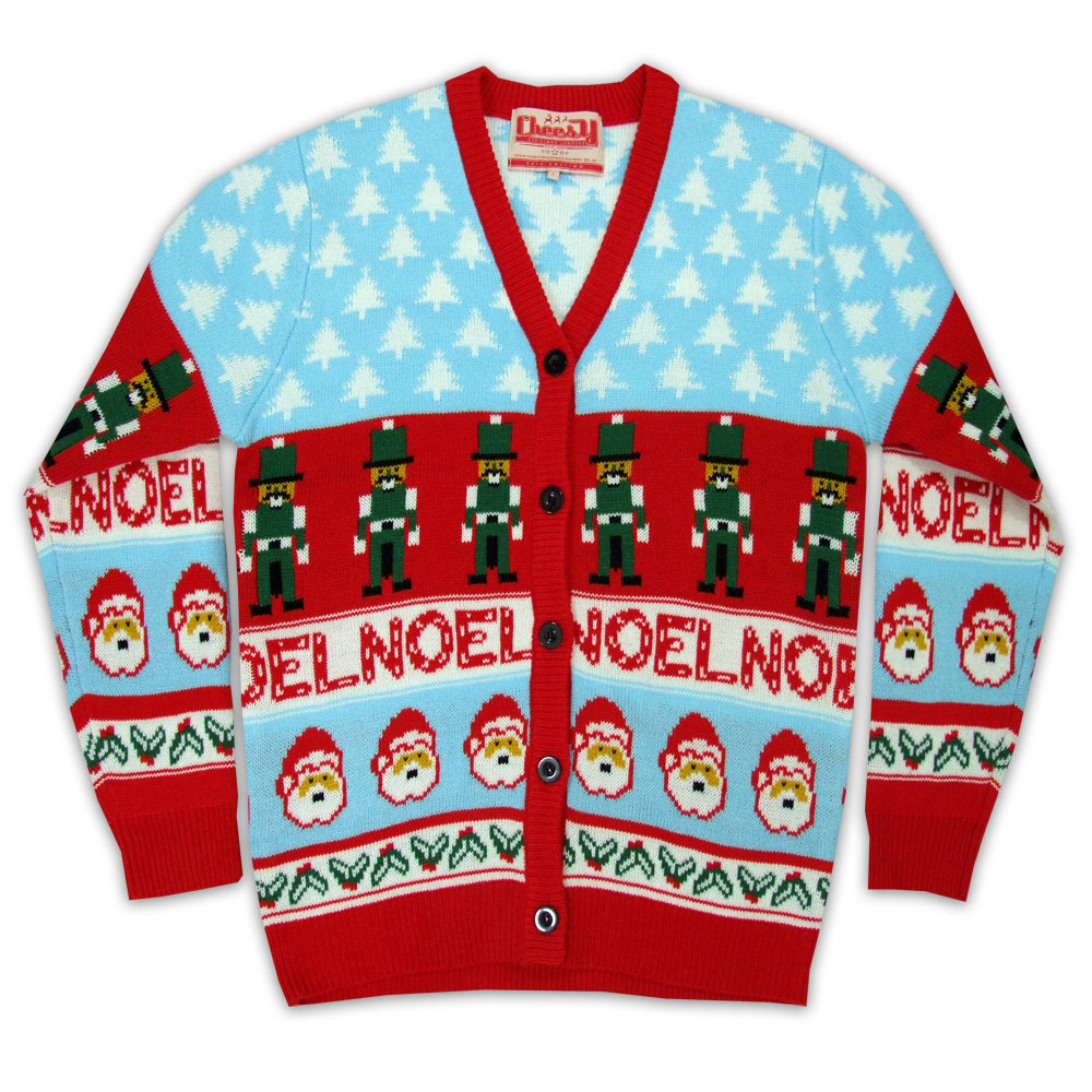 2014 Christmas jumpers - Nutcracker Cardigan