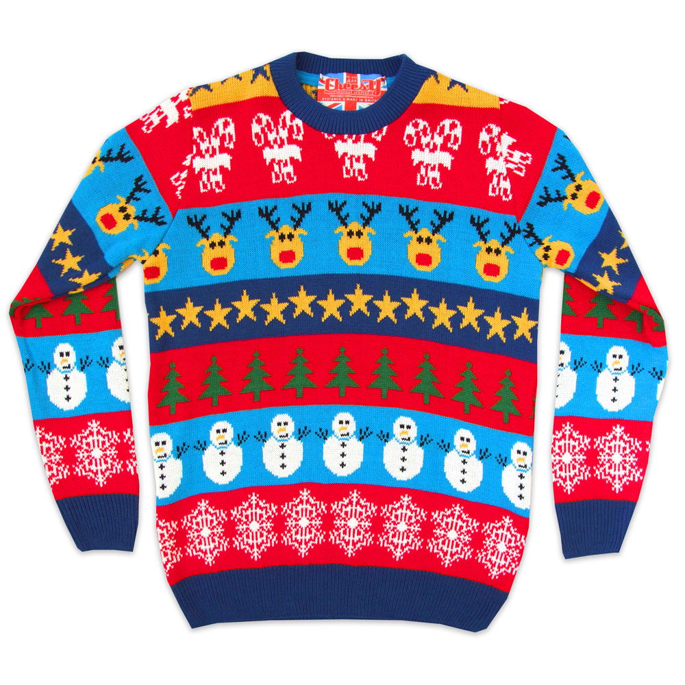 2014 Christmas jumpers - Boxing Day mashup