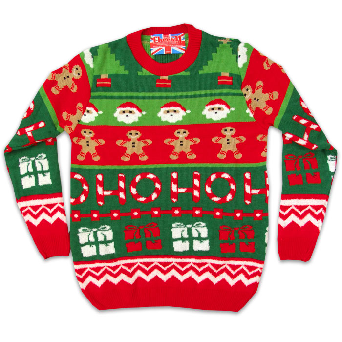 2014 Christmas jumpers - Santas workshop