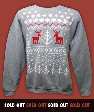 ice kingdom christmas sweatshirts
