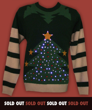led light up christmas jumpers