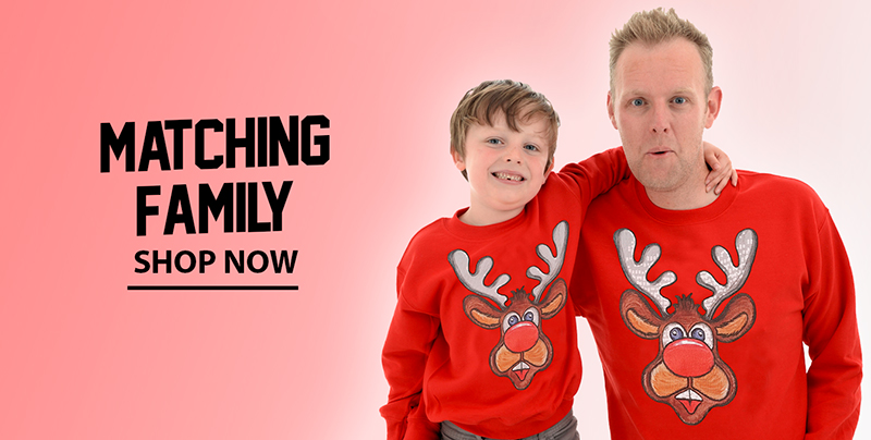 Matching Christmas Jumpers