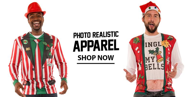 Photo Realistic Christmas T-shirts