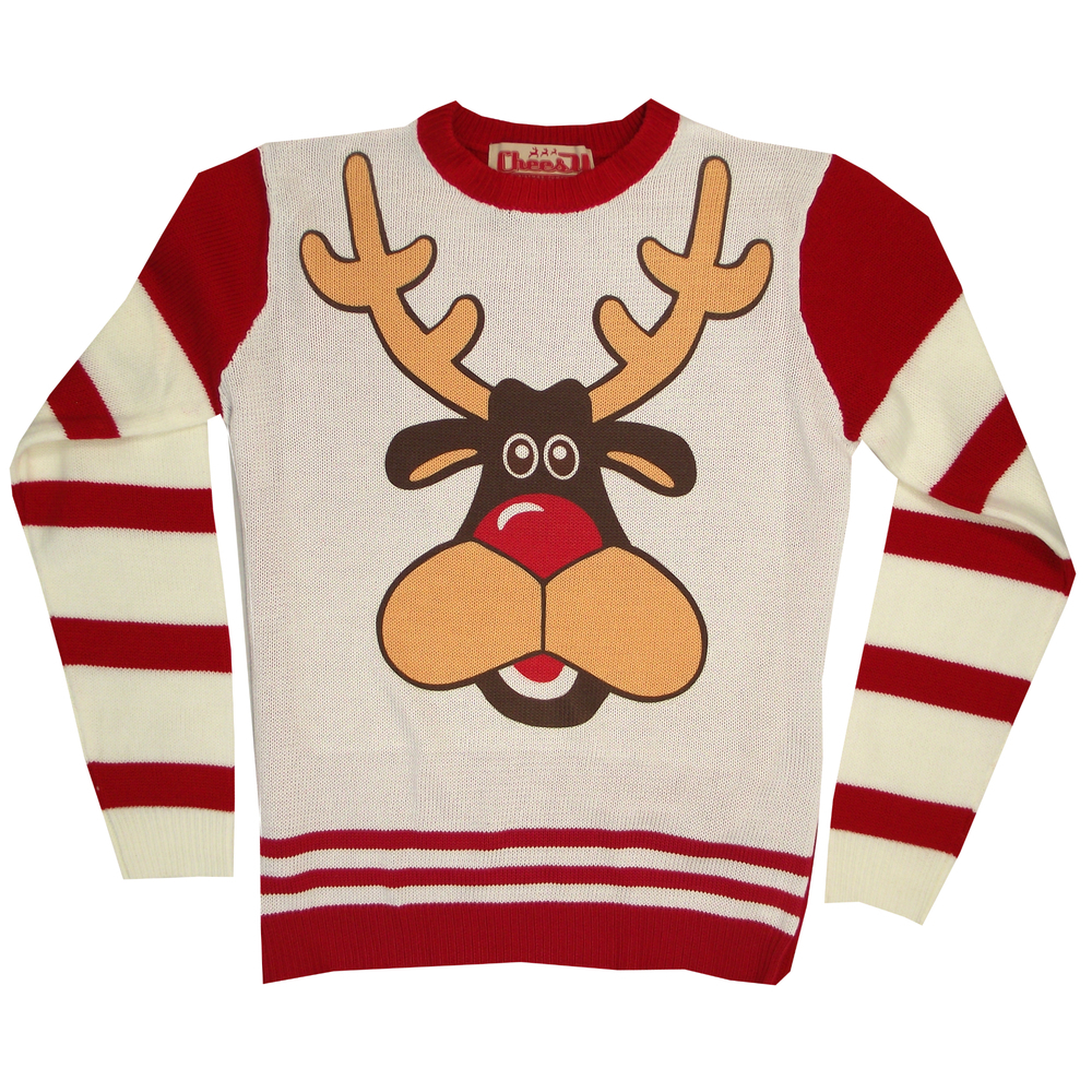 Rudolph Christmas jumpers 2014
